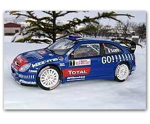 Citroen Xsara WRC Loeb 2e Monte Carlo 2006