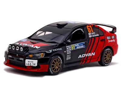 Hobbyeasy Mitsubishi Lancer Evolution X 61 Winner Jrc Rally