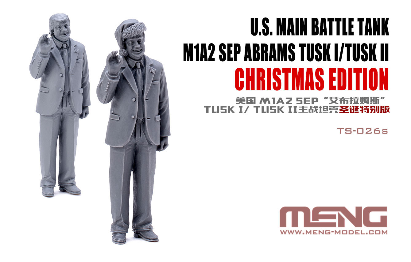 Image result for U.S. Main Battle Tank M1A2 Abrams Tusk I/Tusk II Chirstmas edition