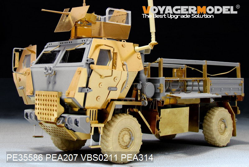 Hobbyeasy Modern Us M1078 Lmtv Armor Cab Basic